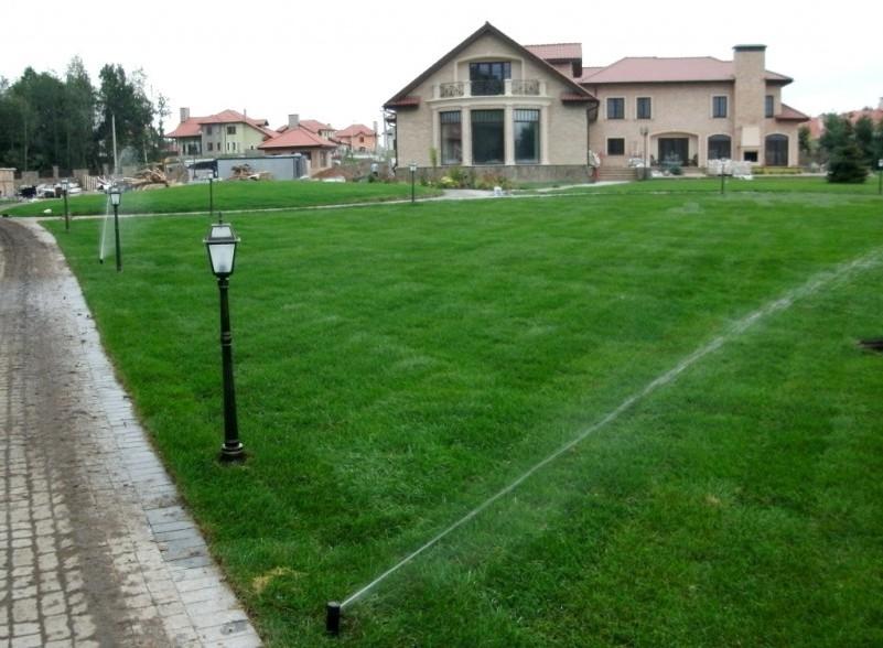 Система полива на загородном участке в Бродах
