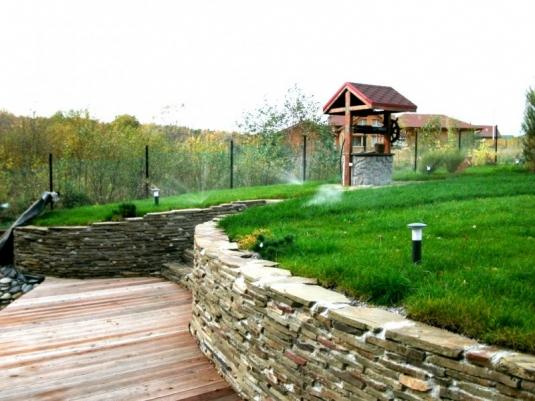 Система полива на загородном участке в Кунгуре