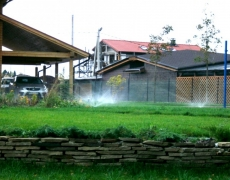 Система полива в Кунгуре