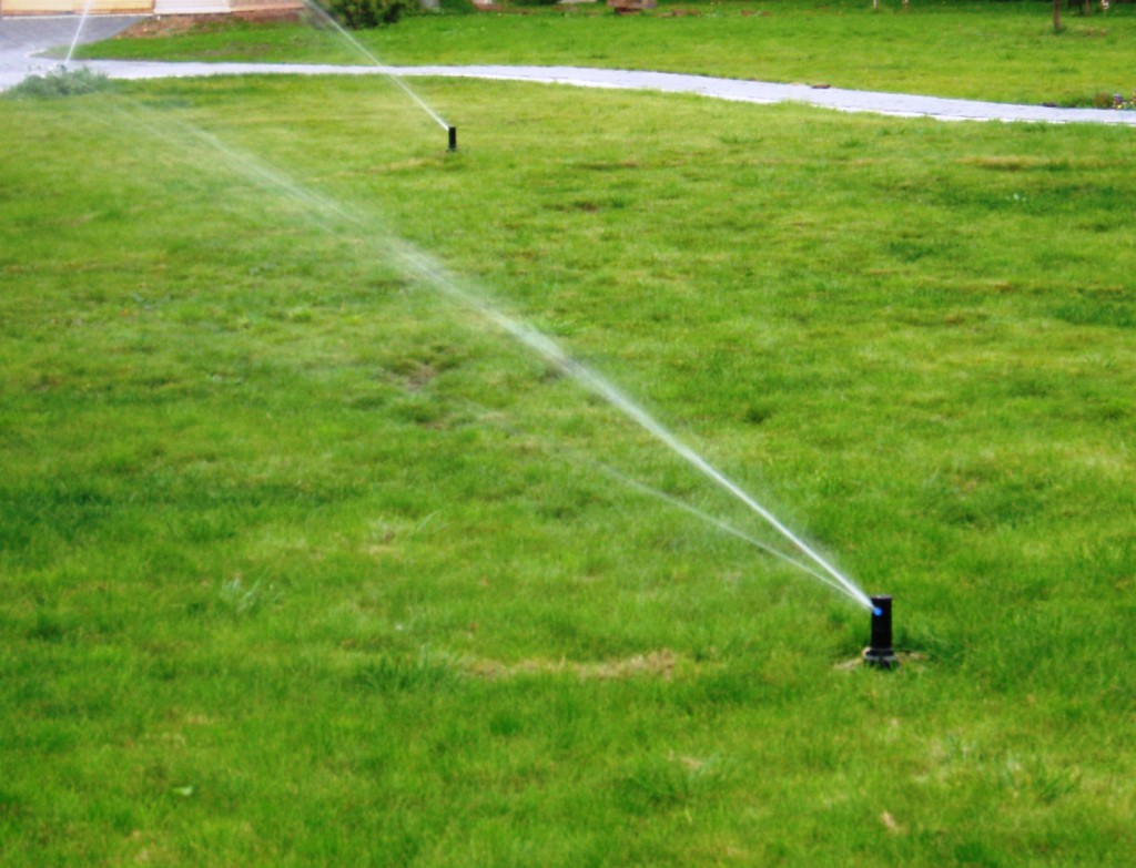Система полива на загородном участке в Усть-Качке